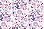 Cristina De Lera Illustration - cristina, de lera, digital, photoshop, postcard, illustrator, colourful, bright, licensing, repeat pattern, gift wrap, wrapping paper, design, repeat pattern, pattern, colourful, pretty, flowers, floral, petals, leaves, blossom