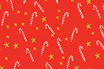 Eglantine Ceulemans Illustration - eglantine, ceulemans, digital, photoshop, wrap, wrapping paper, repeat pattern, detail, christmas, xmas, candy canes, stars, festive, presents