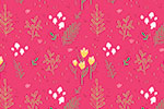 Eglantine Ceulemans Illustration - eglantine, ceulemans, digital, photoshop, wrap, wrapping paper, repeat pattern, detail, petty, floral, flowers, leaves, petals, pink, yellow, blossom