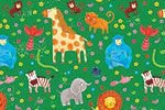 Emma Randall  Illustration - emma, randall, greetings cards, paint, painting, digital, photoshop, illustrator, birthday, wrap, wrapping paper, cute, sweet, young, animals, wildlife, giraffe, gorilla, bird, money, elephant