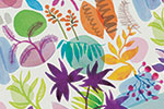Jo Rooks Illustration - o, rooks, watercolour, paint, photoshop, digital, painterly, graphic, colourful, tropical, trend, repeat pattern, gift wrap, wrapping paper, jungle, flowers, plants, rocks,