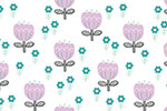 Katy Halford Illustration - katy, halford, digital, photoshop, illustrator, trend, fun, young, bright, repeat pattern, sample, gift wrap, wrapping paper, floral, flowers,wall paper, wall covering, white, blossom, leaves,