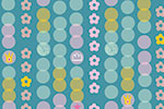 Katy Halford Illustration - katy, halford, digital, photoshop, illustrator, trend, fun, young, bright, repeat pattern, sample, gift wrap, wrapping paper, floral, flowers,wall paper, wall covering, flowers, dots, polka dots, star, muted,