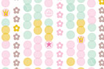 Katy Halford Illustration -  katy, halford, digital, photoshop, illustrator, trend, fun, young, bright, repeat pattern, sample, gift wrap, wrapping paper, floral, flowers,wall paper, wall covering, clouds, weather, faces, sun, detailing, young, sweet, cute,white