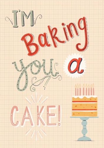Claire Shorrock Illustration - claire, shorrock, claire shorrock, licensing, illustration, handdrawn, card, card design, digital, text, pattern, decorative, cake, birthday, fun