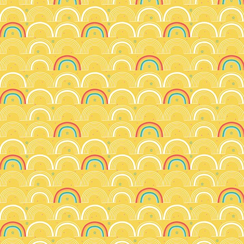 Katy Halford Illustration - katy, halford, digital, photoshop, illustrator, trend, fun, young, bright, repeat pattern, sample, gift wrap, wrapping paper, rainbow, weather, yellow, colours