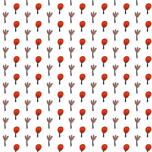Maria  Serrano Canovas Illustration - maria, serrano, digital, photoshop, illustrator, repeat pattern, surface pattern design, gift wrap, wrapping paper, floral, trees, wall paper, wall covering, autumnal