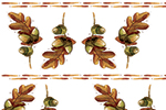 Simona  Sanfilippo Illustration - simona, sanfilippo, licensing, repeat pattern, wrapping paper, card design, leaves, pattern