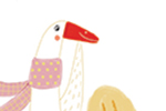 Valeria Valenza Illustration - valeria valenza, licensing, greetings cards, digital, pattern, text, goose, animal, babies, mothers day, quirky